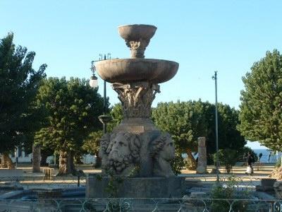 La place romaine de Cherchell
